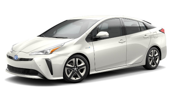 Viewing the 2020 Toyota Prius Hybrid