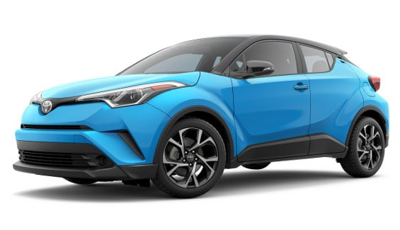 Viewing the 2019 Toyota C-HR