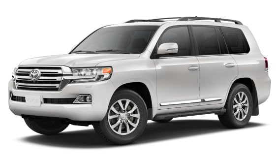 Viewing the 2020 Toyota Land Cruiser