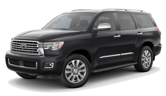 Viewing the 2020 Toyota Sequoia