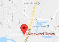 Maplewood Toyota Dealer Service Location