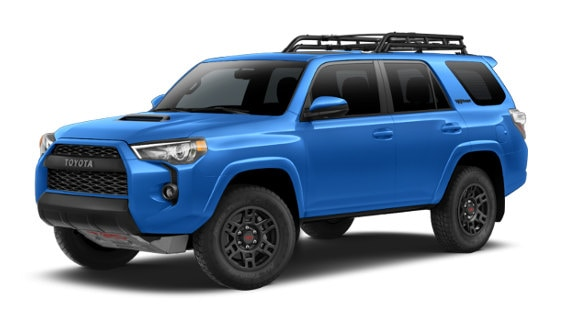 Viewing the 2020 Toyota 4Runner