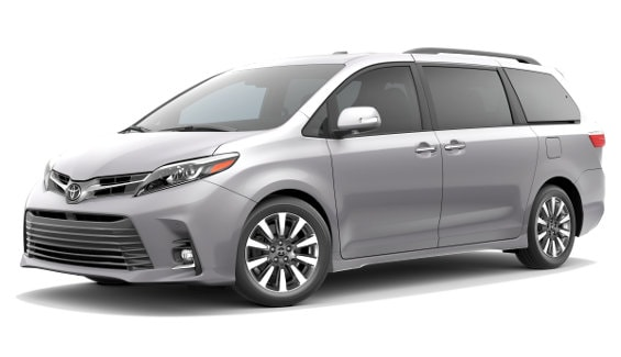 Viewing the 2020 Toyota Sienna