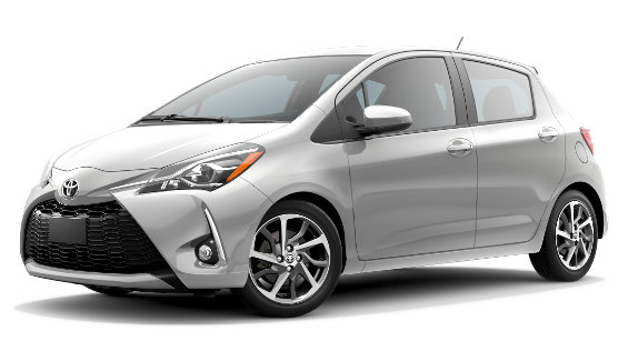 Viewing the 2020 Toyota Yaris Liftback