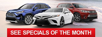 New Toyota Inventory Specials