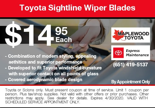 toyota wiper blade coupon