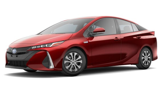 Viewing the 2020 Toyota Prius Prime