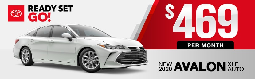 New-Toyota-Avalon-Lease-Special