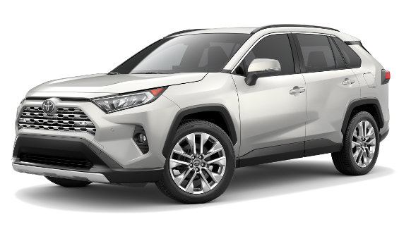 Viewing the 2020 Toyota RAV4 Hybrid
