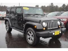 2017 Jeep Wrangler Unlimited Sahara 4x4 Sahara  SUV