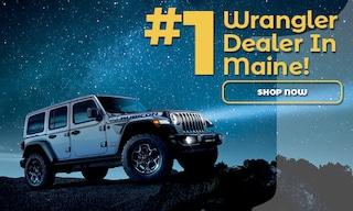 Number One Wrangler Dealer in Maine!