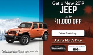Jan Jeep $11K off