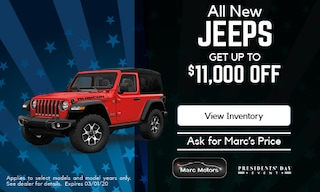 $11,000 off New Jeep - February