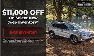 $11,000 off Select Jeep Inventory
