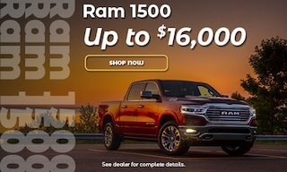Ram 1500 - Up to $16,000 Off!