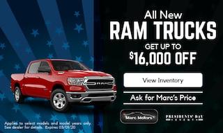 $16,000 off New Ram