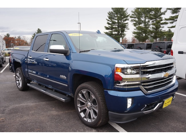 2018 Chevrolet Silverado 1500 High Country 4x4 High Country  Crew Cab 6.5 ft. SB