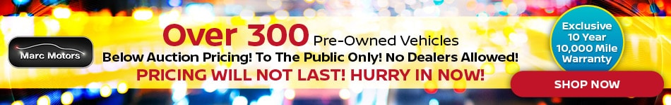 Pre Owned Sale