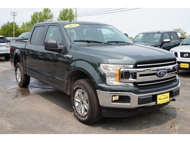Used 2018 Ford F-150 Truck SuperCrew Cab in Sanford ME
