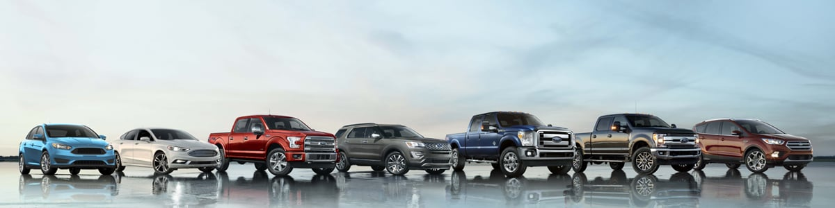Ford Vehicle Model Lineup