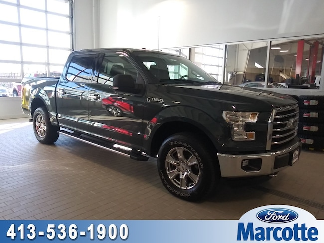 2015 Ford F-150 XLT 4WD SuperCrew 145 XLT For Sale In Holyoke MA