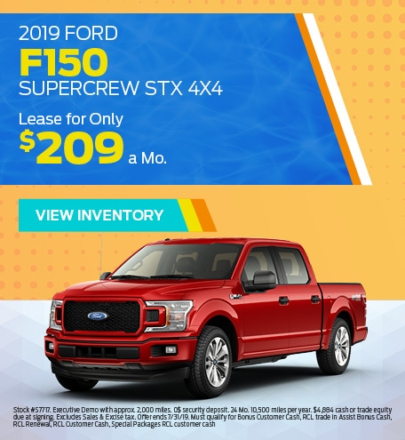 New 2019 Ford F-150 7/8/2019