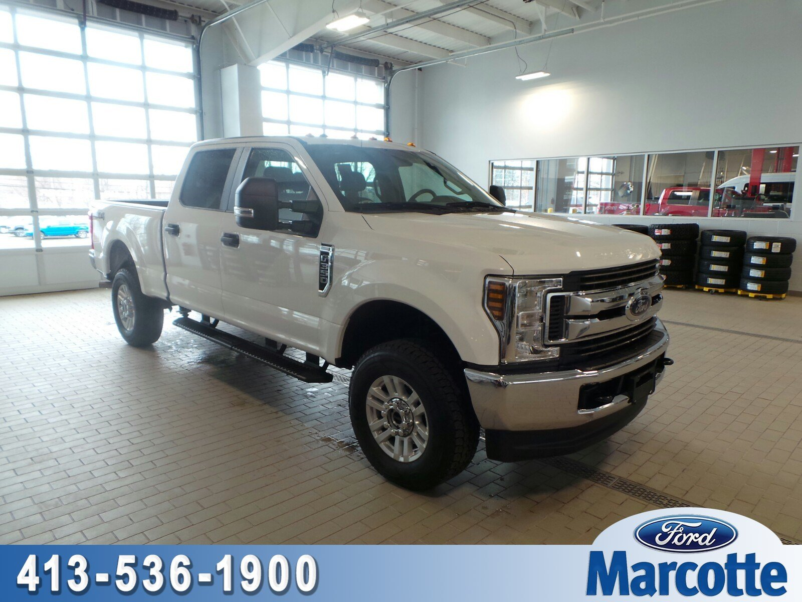 2018 Ford Super Duty F-350 SRW XL XL 4WD Crew Cab 8 Box