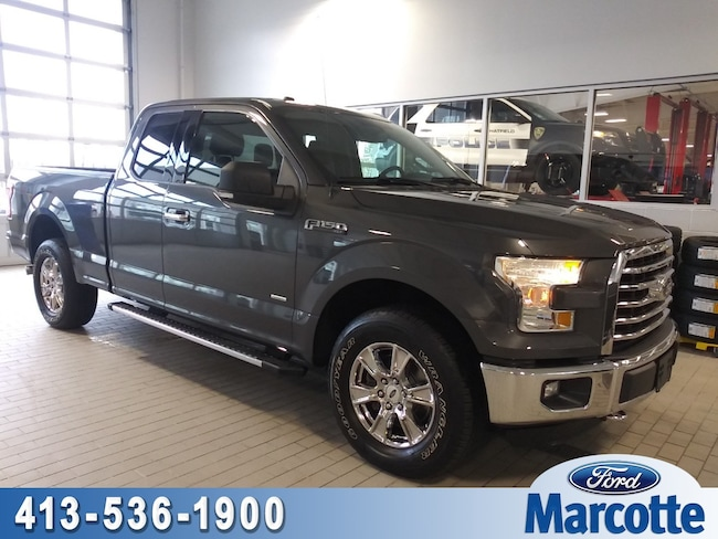 2016 Ford F-150 XLT 4WD SuperCab 145 XLT For Sale In Holyoke MA