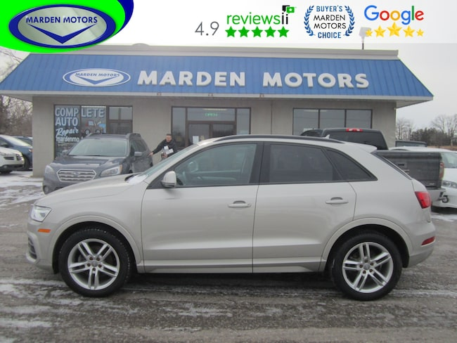 2016 Audi Q3 2.0T. Awd. Leather. Roof. Low km. SUV