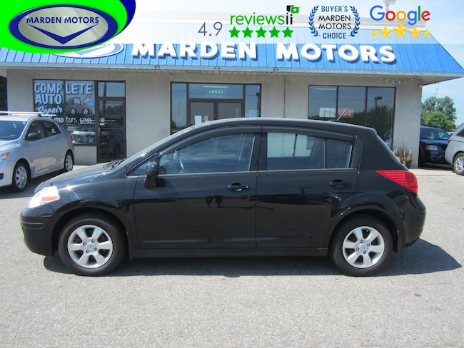 2012 Nissan Versa 1.8 S. Hatchback. Auto. Air. Pwr Group. Low km Hatchback