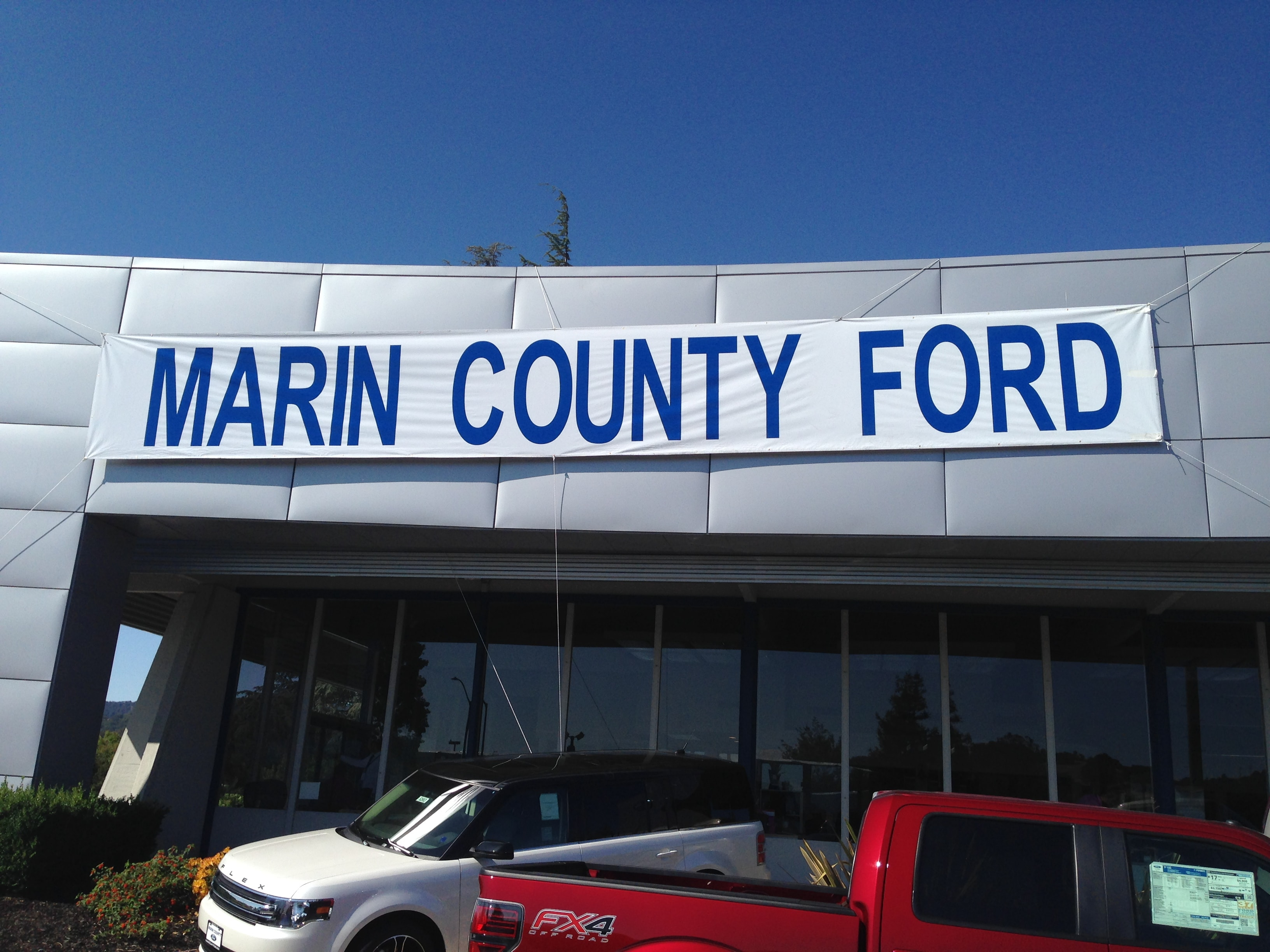 Marin County Ford serves the San Francisco SF Bay CA Area