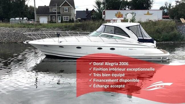 2006 DORAL BOATS 45 Alegria