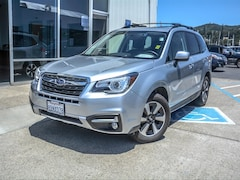 Certified 2018 Subaru Forester 2.5i Limited SUV JF2SJARC9JH478804 for sale near San Francisco at Marin Subaru