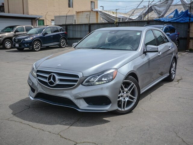 2014 Mercedes-Benz E-Class Black Sedan