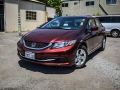 Used 2015 Honda Civic LX Sedan 2HGFB2F5XFH555594 for sale in San Rafael, CA at Marin Subaru