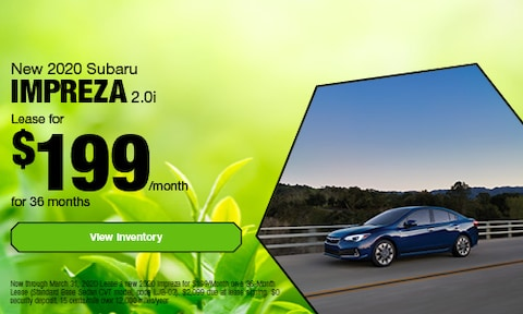 New 2020 Subaru Impreza 2.0i