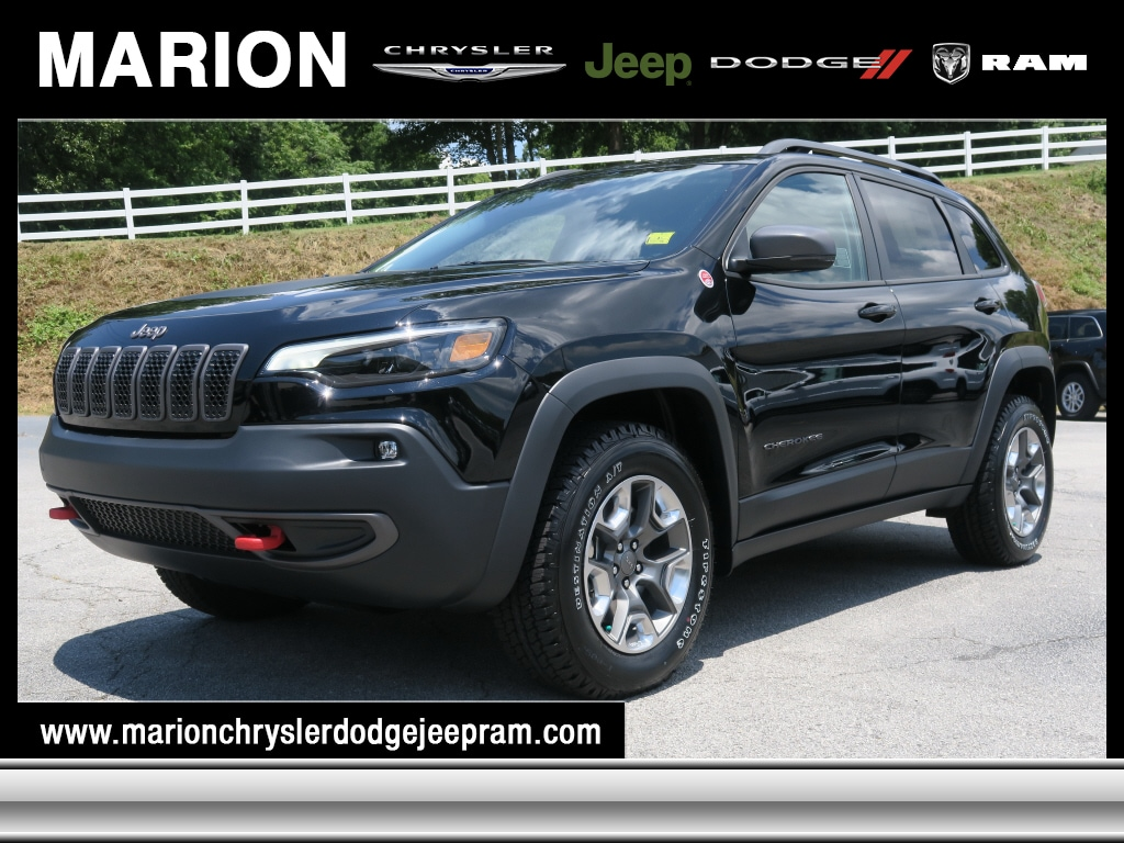 New 2019 Jeep Cherokee TRAILHAWK 4X4 Sport Utility in Marion, NC