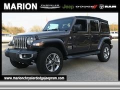 2018 Jeep Wrangler UNLIMITED SAHARA 4X4 Sport Utility in Marion, NC