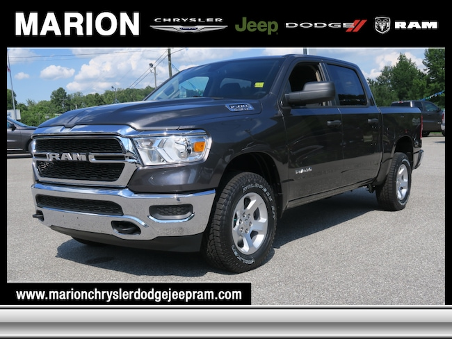 New 2019 Ram 1500 TRADESMAN CREW CAB 4X4 5'7 BOX Crew Cab near Asheville