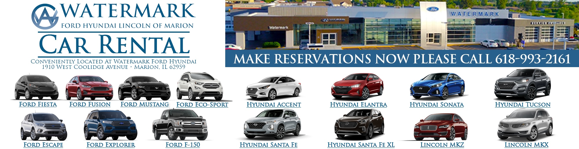 Watermark Ford of Marion | Ford Dealership in Marion IL
