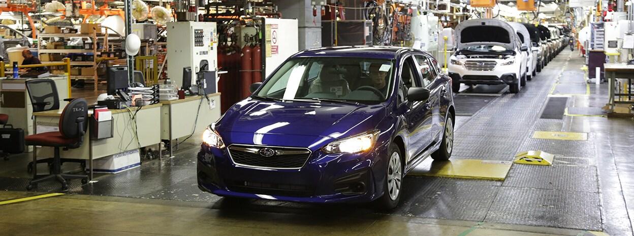 Marion Subaru | First American-Built Subaru Impreza Rolls Off The ...