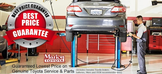 Auto Repair & Car Service Marion, IL | Toyota Service Center