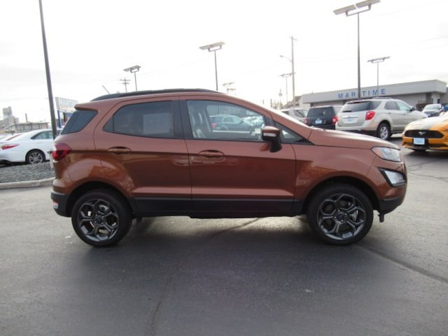 2018 Ford EcoSport SES SES 4WD