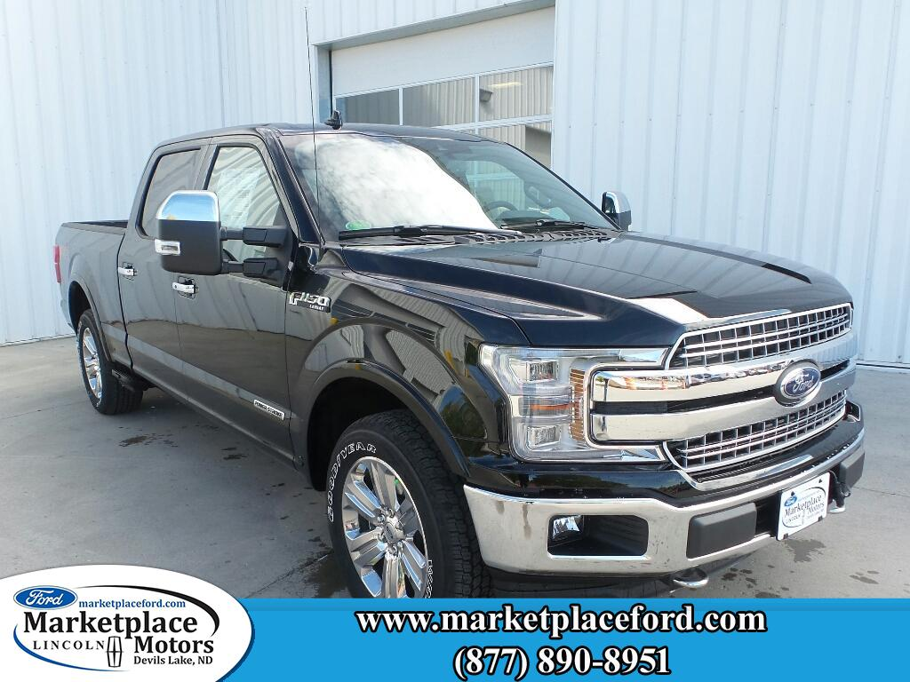 New 2018 fordf 150 lariat 4wd supercrew 6 5 box