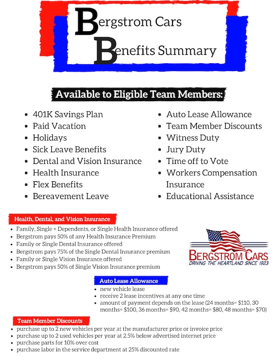 Employment Opportunities | Marketplace Motors Inc