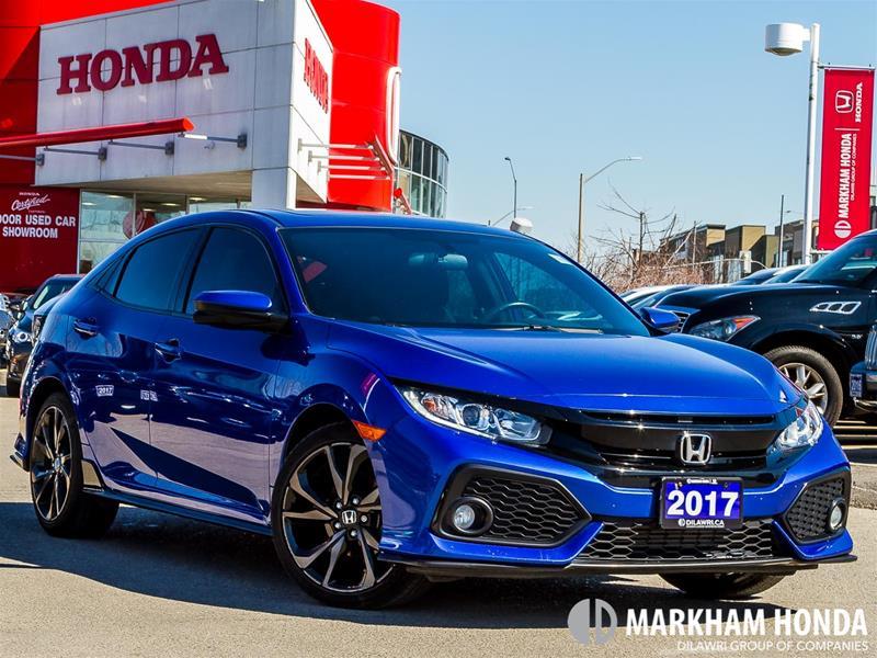 2017 Honda Civic Sport - BLINDSPOT CAM|BLINDSPOT CAM|PUSH START| Hatchback