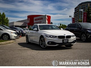 2016 BMW 428i - NO ACCIDENT|SENSORS|LEATHER|TAILGATE|NAVI| Gran Coupe