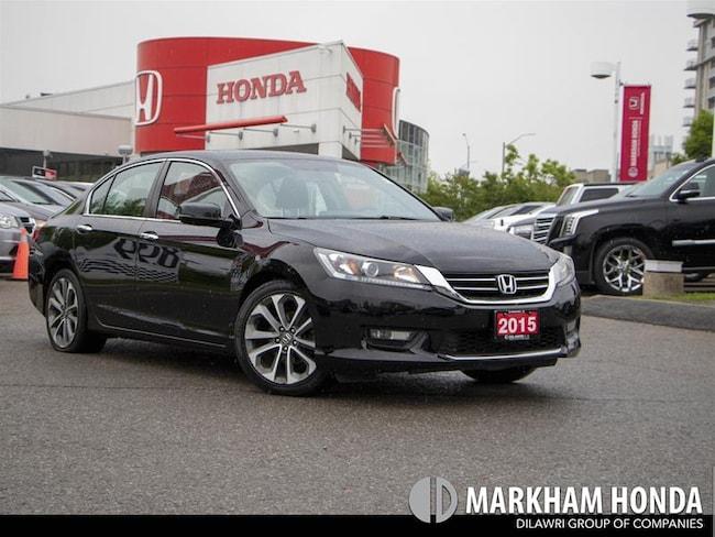2015 Honda Accord Sport - NO ACCIDENTS|1OWNER|SUNROOF|HEATED SEATS| Sedan