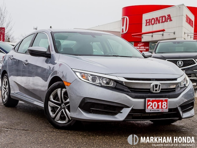 2018 Honda Civic LX - NO ACCIDENTS|1OWNER|BACKUP CAM|HEATED SEATS| Sedan