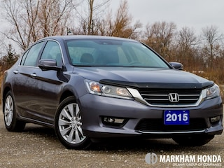 2015 Honda Accord EX-L V6 at - LEATHER|SUNROOF|PUSH START BUTTON| Sedan